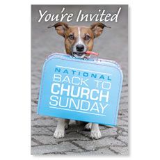 Doggone Invited Postcard