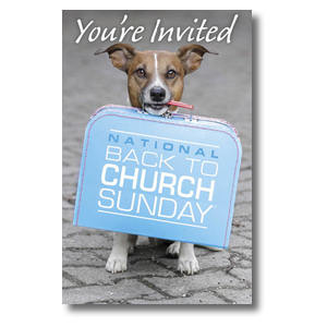 Doggone Invited Postcards