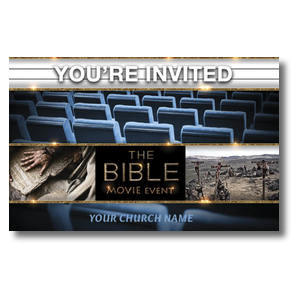 Bible Theater Invited Postcards