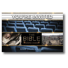 Bible Theater Invited Postcard