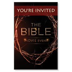 Bible Crown Invited Postcard