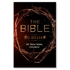 Bible Crown Deeper Postcard