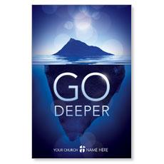 Deeper Iceberg Postcard