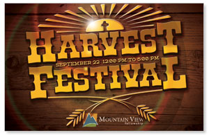 Harvest Festival Postcards