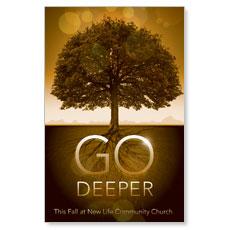 Fall Deeper Roots Postcard