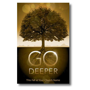 Fall Deeper Roots Postcards