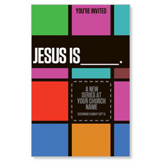 Jesus is____ Postcard