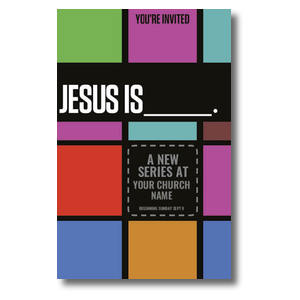 Jesus is____ Church Postcards