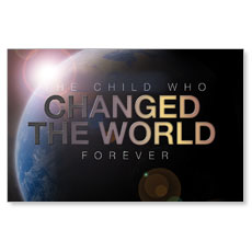 Changed the World Postcard
