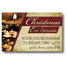 Christmas Eve Lights Postcard