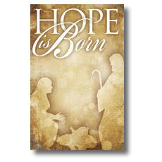 Hope is Born Postcard
