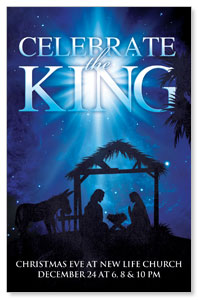 Celebrate the King M Postcards
