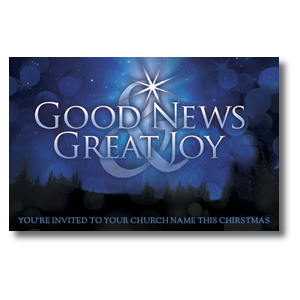 Good News Joy Postcards