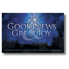 Good News Joy Postcard