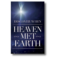 Heaven Met Earth Postcard
