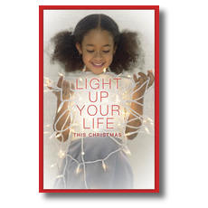 Light Life Postcard