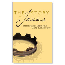 The Story Of Jesus Custom Postcard