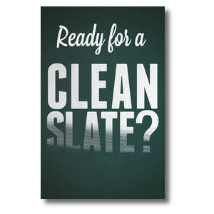 Clean Slate Postcards