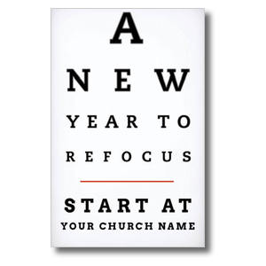 Eye Chart Postcards