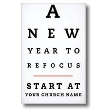 Eye Chart Postcard
