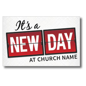 New Day Church Postcards