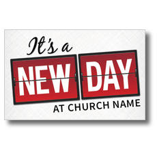 New Day Postcard