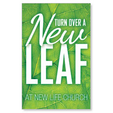 New Leaf Postcard