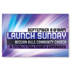 Launch Sunday Postcard