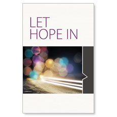 Let Hope In Postcard