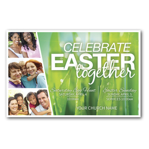 Easter Together DIY Postcard Packs