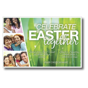 Easter Together Postcards