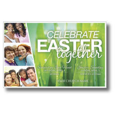 Easter Together Postcard