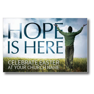 Hope Is Here Church Postcards