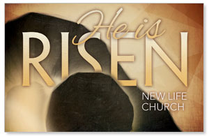Risen Gold Postcards