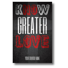 Know Love Postcard