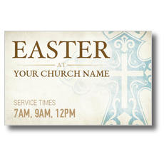 Cross Logo Card Postcard