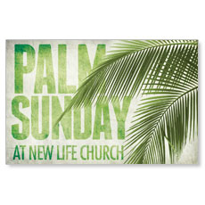 Palm Fronds Postcard