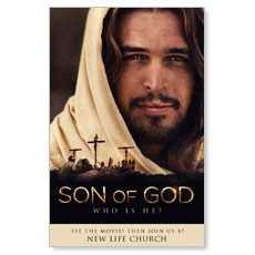 Son of God Who is He? Postcard