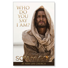 Son of God: Who Do You Say I Am? Postcard