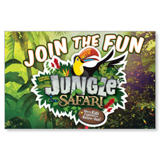 Jungle Safari Postcard