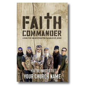 Faith Commander Postcards