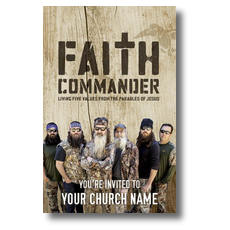 Faith Commander Postcard