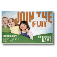 Fun Invitation Postcard