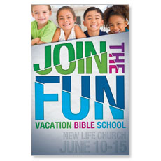 VBS Green Blue Red Postcard