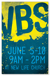 VBS Paint Postcards