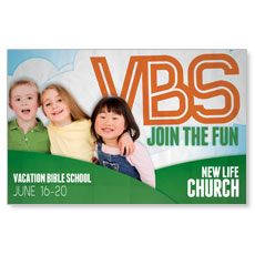 Fun Invitation VBS Postcard