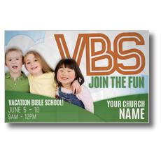 Fun Invitation VBS Postcard