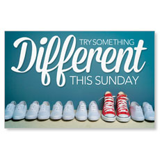 Different Shoes Postcard