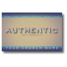 Authentic Postcard