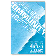 Building Community Postcard